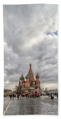 Saint Basil's Cathedral Moscow Beach Towel