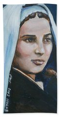 Saint Bernadette Soubirous Beach Sheet