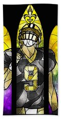 Saint Brees Beach Towel