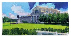 Saint Louis City Art Museum Beach Towel