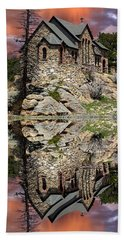 Beach Towel featuring the photograph Saint Malo Panorama by Shane Bechler