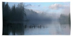 Saint Mary Lake Beach Towel