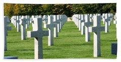 Saint Mihiel American Cemetery Beach Towel
