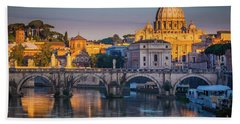 Saint Peters Basilica Beach Towel