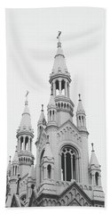 Saints Peter And Paul Church 1- By Linda Woods Beach Towel