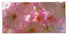 Sakura - Japanese Cherry Blossom Beach Sheet
