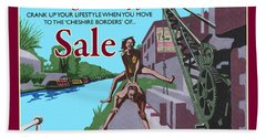 Sale Poster By Eric Jackson, Statement Artwork Beach Towel