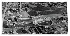 Salinas High School 726 S. Main Street, Salinas Circa 1950 Beach Towel