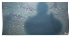 Salmon Head Beach Towel