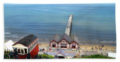Saltburn Pier Beach Towel