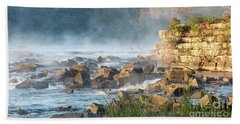 Saluda River At Daybreak Beach Towel