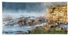 Saluda River At Daybreak Beach Sheet