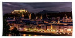 Beach Towel featuring the photograph Salzburg Austria by David Morefield