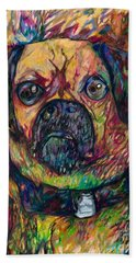 Sam The Dog Beach Towel