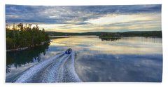 Sambro Basin II Nova Scotia Beach Sheet by Heather Vopni