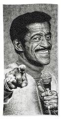 Sammy Davis Jr - Entertainer Beach Towel