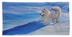Samoyed Beach Sheet