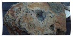 Beach Sheet featuring the photograph Samsoe Island  Stone Denmark  by Colette V Hera Guggenheim