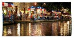San Antonio River Walk 72516 Beach Towel