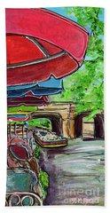 San Antonio River Walk Cafe Beach Sheet