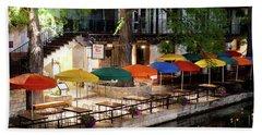 San Antonio River Walk V2 072716 Beach Towel