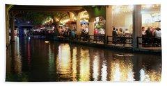 San Antonio River Walk V2 72516 Beach Towel