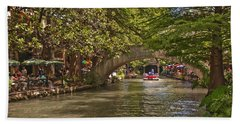 San Antonio Riverwalk Beach Sheet