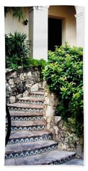 San Antonio Stairway Beach Towel