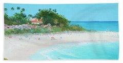San Clemente Beach Panorama Beach Towel