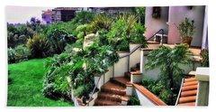 San Clemente Estate Backyard Beach Sheet