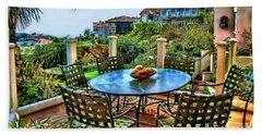 San Clemente Estate Patio Beach Towel
