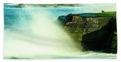 San Diego Beach Beach Towel