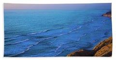 San Diego Coast Beach Towel
