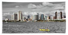 San Diego Skyline Beach Sheet