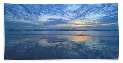 San Elijo Blue Beach Towel