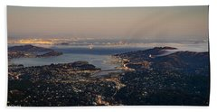 San Francisco Bay Area Beach Towel