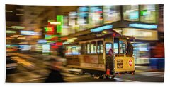 San Francisco Cable Car Beach Sheet