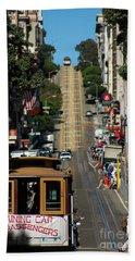 San Francisco Cable Cars Beach Sheet