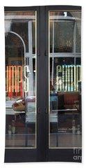 San Francisco Gumps Department Store Doors - Full Cut - 5d17094 Beach Sheet