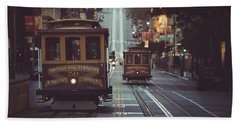 San Francisco Beach Towel by JR Photography