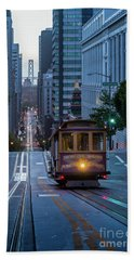 San Francisco Morning Commute Beach Towel