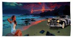 San Francisco Sunrise Beach Towel