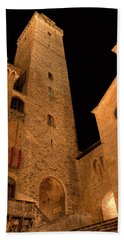 San Gimignano Beach Towel
