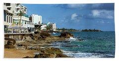 San Juan Bay In Puerto Rico Beach Towel