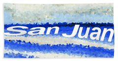 San Juan  Beach Towel