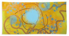 Sand And Water Beach Towel
