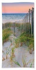 Sand Dune Fences, Cape Cod Beach Towel