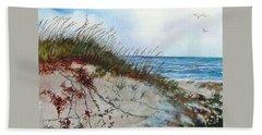Sand Dunes And Sea Oats Beach Sheet