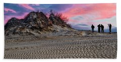 Sand Dunes Of Kitty Hawk Beach Towel