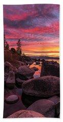 Sand Harbor Beach Beach Towel